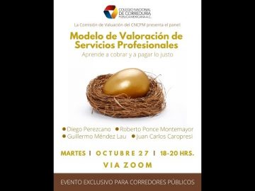 Modelo de Valoración de Servicios Profesionales.