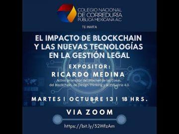 El impacto de Blockchain y las nuevas tecnologías en la gestión legal.